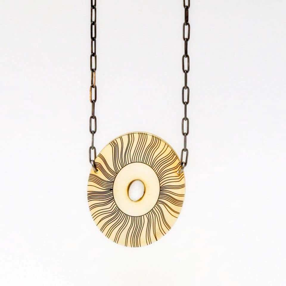 Ionian Sun necklace