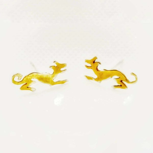 Happy Dog Earrings